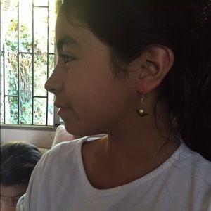 Girls angel earrings